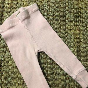 NWOT Zara Baby Pink Leggings Sz 3-6 Months